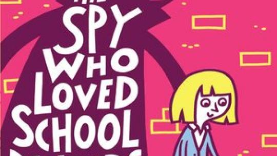 The Spy Who Loved School Dinners - Image from Overdrive Website