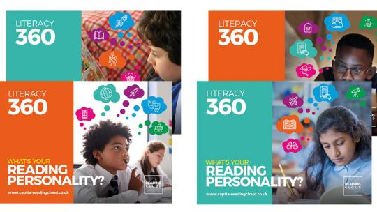 Literacy 360 posters